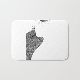 Creatures of the Mountain Bath Mat