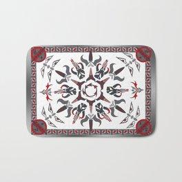 Mando'ade Darasuum (gradient background) Bath Mat