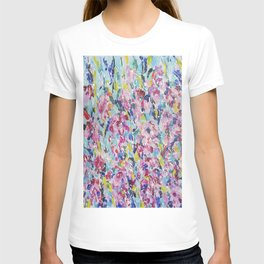 Abstract floral painting 2 T-shirt