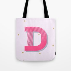 D is for Delightful Tote Bag