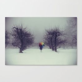 Trapped in Wonderland Canvas Print