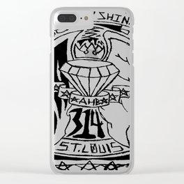 Fuckin' Shine Clear iPhone Case