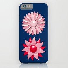 Jackie (Red on Blue) Slim Case iPhone 6s