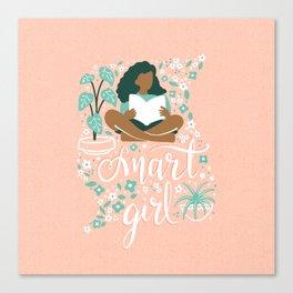 Smart Girl - v2 Canvas Print