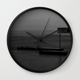Warning: Strong Current Wall Clock