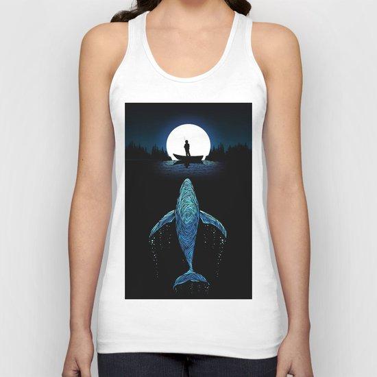 Whale Unisex Tank Top