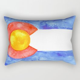 Colorado Flag Rectangular Pillow