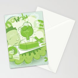 how i remember it Stationery Cards