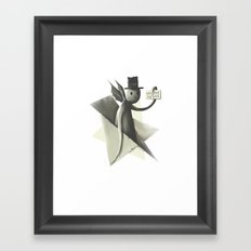 Will die to live Framed Art Print