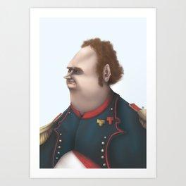 Commander Adrian Art Print