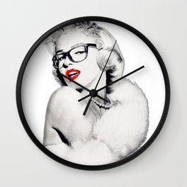 Cool Marilyn  Wall Clock