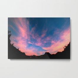 Zion Moonrise Metal Print