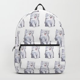 A cat with glasses Backpack