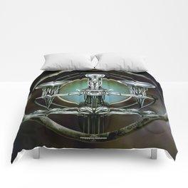 """Astrological Mechanism - Libra"" Comforters"