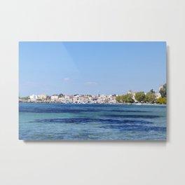 Aegina Views Metal Print