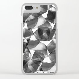 Pattern 38 Clear iPhone Case