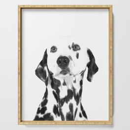 Black and White Dalmatian Serving Tray