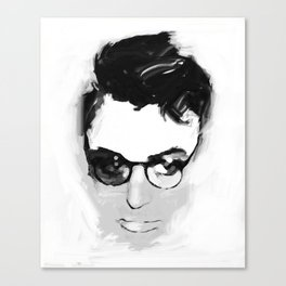 Cary with glasses Canvas Print