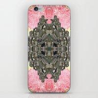 monika strigel iPhone & iPod Skins featuring Monika by Ancient Origin