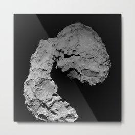 Rosetta's comet descent Metal Print
