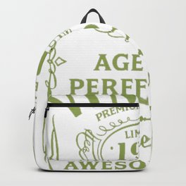 Green-Vintage-Limited-1942-Edition---75th-Birthday-Gift Backpack