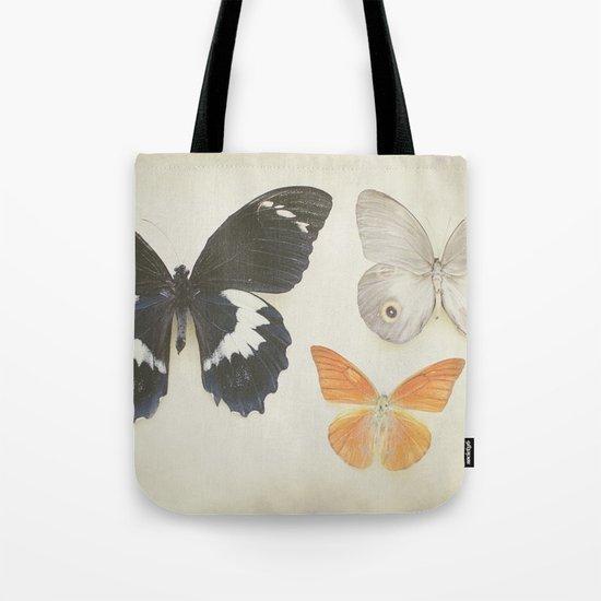 Brown Butterflies  Tote Bag
