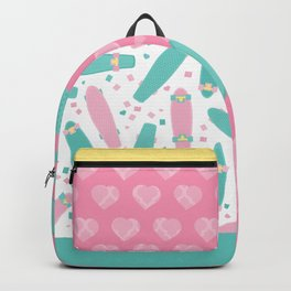 Pastel Skateboards Pattern Backpack