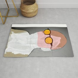 Another Portrait Disaster · White Rug