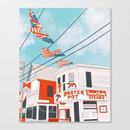 An Afternoon in Provincetown Canvas Print