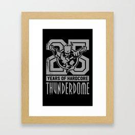 Thunderdome - Deejay Framed Art Print