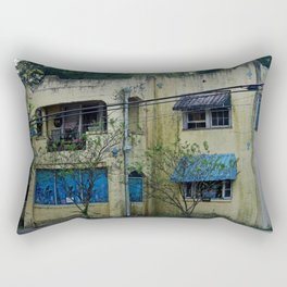 Old Spanish Style House Rectangular Pillow