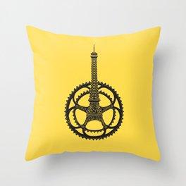 Le Tour de France Throw Pillow