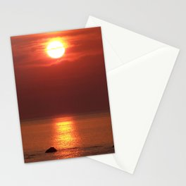 Halo Sunset Glow Stationery Cards