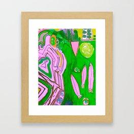 Sun and Surf #2 Framed Art Print