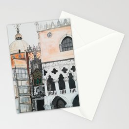 Venice architecture, Piazza San Marco, Dodge's Palace Stationery Cards