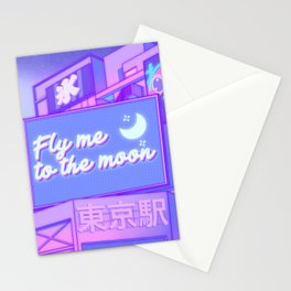 Moon City Stationery Cards