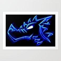 Fox: Logo Art Print