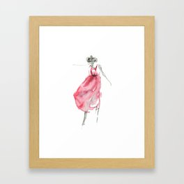She's Dancing Framed Art Print