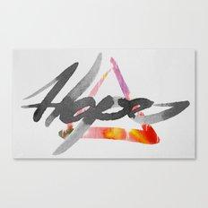 #hope Canvas Print