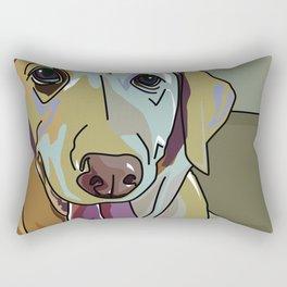 Latte Dog  Rectangular Pillow
