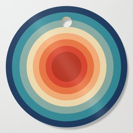 Concentric Circles #1 Cutting Board