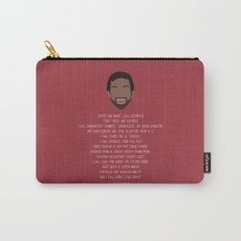 Tom Haverford-isms Carry-All Pouch