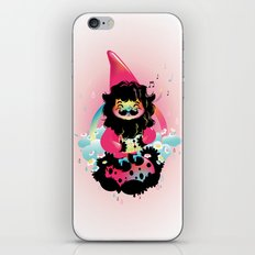 Whistling gnome iPhone & iPod Skin