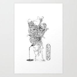 Fifth For Those Past (Bare Necessities) Art Print