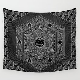 August Mandala 2018 Wall Tapestry