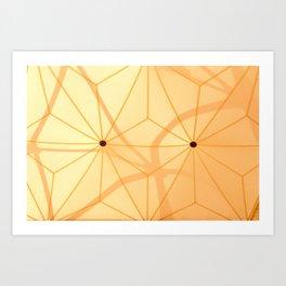 Buckminster Fuller's Buttons Art Print