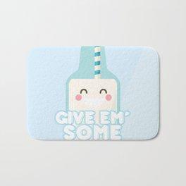 Give Em' Some Milk Bath Mat