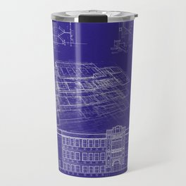 LHS 1921 - Blueprint Style Travel Mug