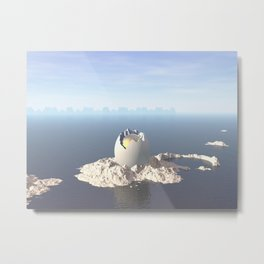 Egg Island Metal Print