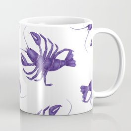 Le Lobster Bleu Coffee Mug